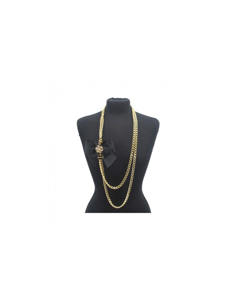 Necklace Jewelry Woman Loristella 1109 Black