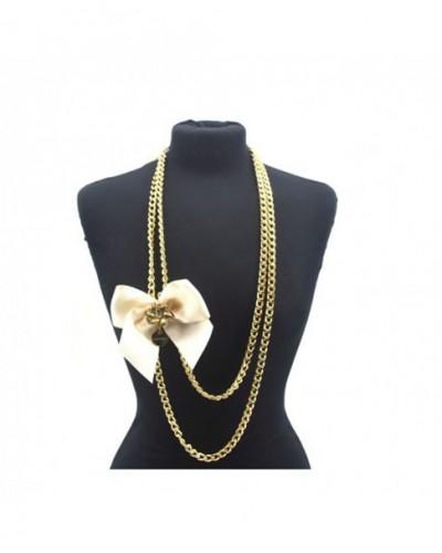 Halskette Bijoux Damen Loristella 1109 Milch