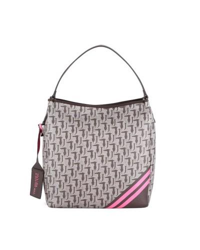 Trussardi Vanilla Hobo Shoulder Bag