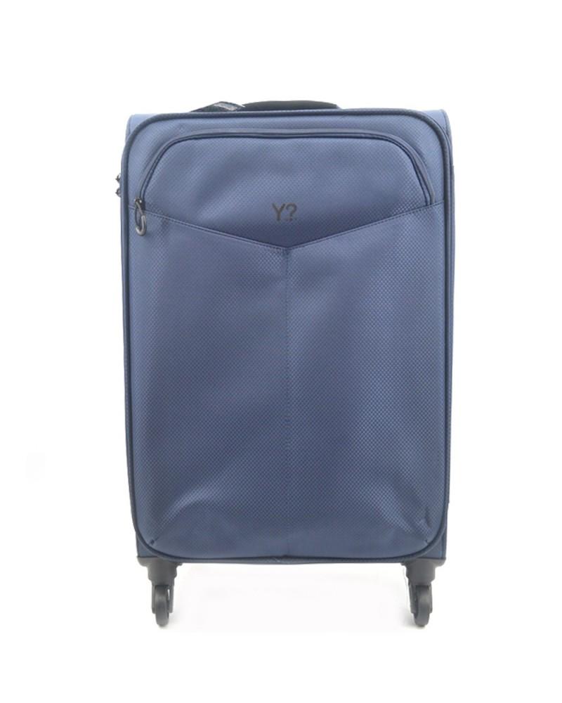 YNOT Chariot de Gros bagages en tissu Bleu